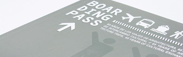 Boarding Pass – 65 años de los Viajes de Arquitectura